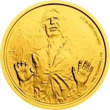 Zlatá investiční mince 1/4 Oz 25 NZD Star Wars 2016 Proof