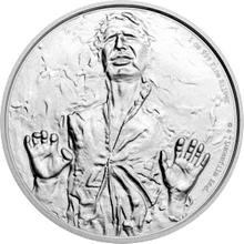 Stříbrná investiční mince 1 Oz 2 NZD Star Wars 2016 Proof