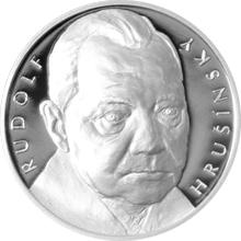 Stříbrná medaile Hvězdy stříbrného plátna - Rudolf Hrušínský 2016 Proof