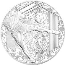 Stříbrná mince 5 Oz Mistrovství Evropy ve fotbale Francie 2016 Proof