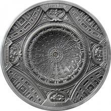 Stříbrná mince Bazilika svatého Petra 2016 Antique Standard