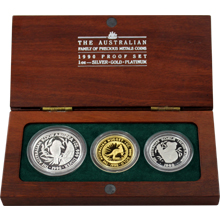 The Australian Family and Precious Metals Coins sada 1990 Proof