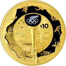 Zlatá mince Cesta do Ria 2016 Proof