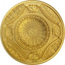 Zlatá mince Bazilika svatého Petra 2016 Antique Standard