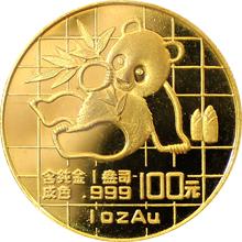 Zlatá investičná minca Panda 1 Oz 1989