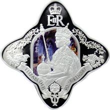 Stříbrná mince Královna Alžběta II. 90. výročí narození 1 Oz Royal Star 2016 Proof