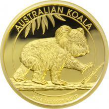 Zlatá mince Koala 1 Oz High Relief 2016 Proof