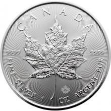 Stříbrná investiční mince Maple Leaf 1 Oz *