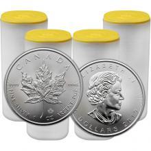 Stříbrná investiční mince Maple Leaf 1 Oz - Investiční Paket 100 Kusů *