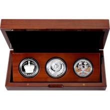 The Royal Silver Collection A Historic Reign Sada stříbrných mincí 2015 Proof