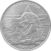Stříbrná investiční mince Plachetník Tokelau 1 Oz 2016
