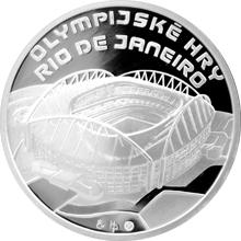Stříbrná medaile Olympijské hry Rio de Janeiro 2016 Proof