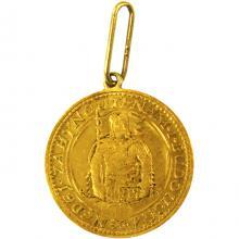 Zlatá minca Svätý Václav Jednodukát Československý 1926 Prívesok
