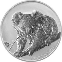 Stříbrná investiční mince Koala 1Kg 2010