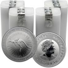 Strieborná investičná minca Kangaroo Klokan 1 Oz - Investičný Paket 100 Kusov