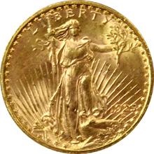 Zlatá mince American Double Eagle 1923