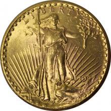 Zlatá mince American Double Eagle 1927