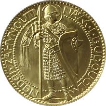 Zlatá medaile Svatý Václav Jednodukát Československý - Josef Šejnost 1923