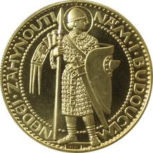 Zlatá medaile Svatý Václav Dvoudukát Československý - Josef Šejnost 1923