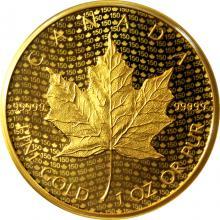 Zlatá mince Iconic Maple Leaf 150. výročí 1 Oz 2017 Proof (.99999)
