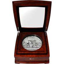 Stříbrná mince 5 Kg Charles Edenshaw: Argillite Chest 2016 Proof