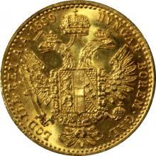 Zlatá mince Dukát Františka Josefa I. 1899