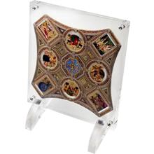 Raffael Santi Raffaelove sály Sada strieborných mincí Opus Magnificum 2016 Proof