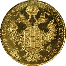 Zlatá mince Dukát Ferdinanda I. 1844 A