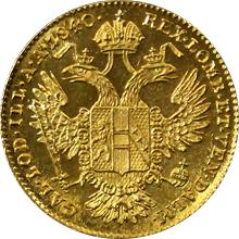 Zlatá mince Dukát Ferdinanda I. 1840 A