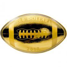 Zlatá minca Fotbal 1 Oz 2017 Proof