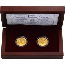 Sada dvou zlatých dukátů František Josef I. 2016 Standard