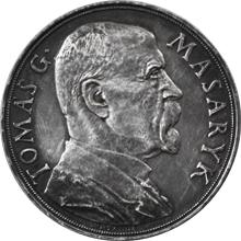 Stříbrná medaile T.G. Masaryk 85. výročí narození 1935
