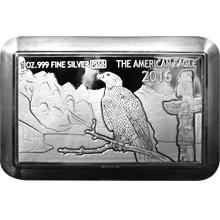 Stříbrná mince American Eagle 1 Oz Premium Size Silver Bar 2016 Proof