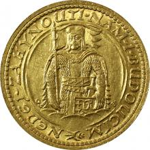 Zlatá minca Svätý Václav Dvojdukát Československý 1930