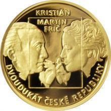 Dvoudukát ČR Martin Frič - Kristián 2017 Proof