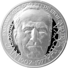 Stříbrná medaile Národní hrdinové - Jan Patočka 2017 Proof