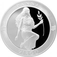 Stříbrná medaile Znamení zvěrokruhu - Panna 2017 Proof
