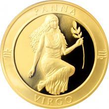 Zlatý dukát Znamení zvěrokruhu - Panna 2017 Proof