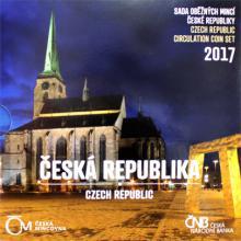 Sada oběžných mincí Česká republika 2017 Standard