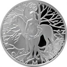 Stříbrná medaile Dekameron den devátý - Kouzlo 2017 Proof