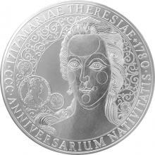 Stříbrná kilogramová mince 300. výročí narození Marie Terezie 2017 Standard