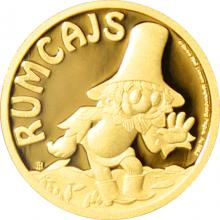 Zlatá minca Rumcajs 2017 Proof