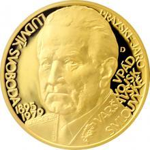 Zlatý dukát Českoslovenští prezidenti - Ludvík Svoboda 2017 Proof