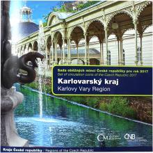 Sada oběžných mincí Karlovarský kraj 2017 Standard