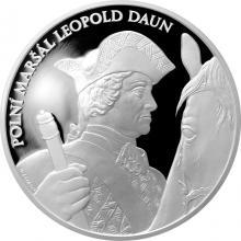 Stříbrná medaile Dějiny válečnictví - Bitva u Kolína 2017 Proof