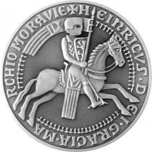 Stříbrná medaile České pečetě - Vladislav Jindřich 2017 Standard