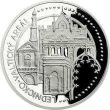Platinová uncová minca UNESCO - Lednicko-valtický areál 2017 Proof