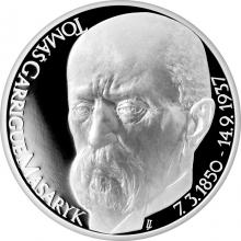 Strieborná medaila Tomáš Garrigue Masaryk 2017 Proof