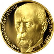 Zlatá uncová medaile Tomáš Garrigue Masaryk 2017 Proof