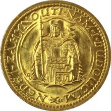 Zlatá mince Svätý Václav Dvojdukát Československý 1934